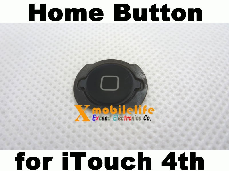 Home Button Key Flex with Metal Backplate for iPod Touch 4th Gen 8GB 32GB 64GB