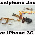 Black Headphone Audio Jack Flex Ribbon Cable for iPhone 2nd Gen 3G 8GB 16GB 32GB