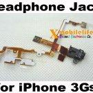Black Headphone Audio Jack Flex Ribbon Cable for iPhone 3rd Gen 3Gs 8GB 16GB 32GB