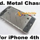 OEM Middle Metal Chassis Plate Panel Chrome Frame Housing for iPhone 4th Gen 16GB 32GB