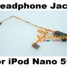 OEM Black Headphone Audio Jack Flex Ribbon Cable for iPod Nano 5th Gen 8GB 16GB