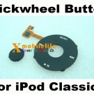 Clickwheel Click Wheel Flex Central Button Key for iPod 6th Gen Classic 80GB 120GB 160GB Black