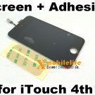 Touch Digitizer Glass Screen LCD Display Assembly Adhesive for iPod Touch 4th Gen 4G 8GB 32GB 64GB