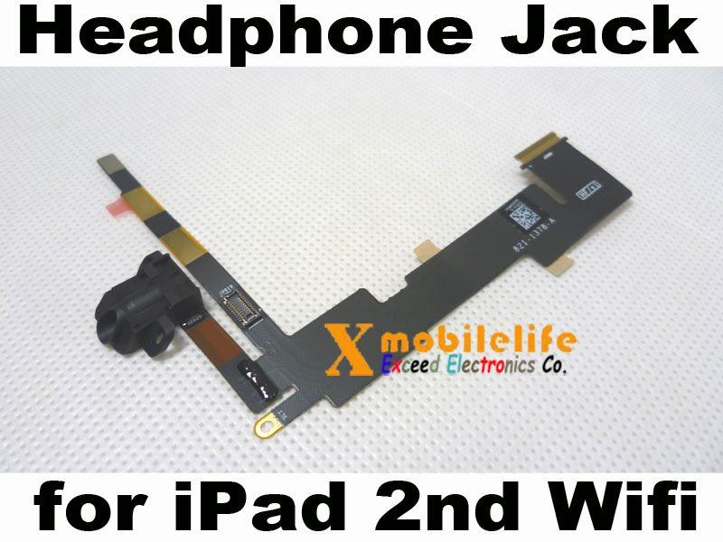 Headphone Audio Jack Flex Ribbon Cable for iPad 2nd Gen Wifi Version 16GB 32GB 64GB
