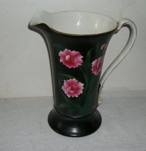 Antique Burleigh Hand Painted Pitcher