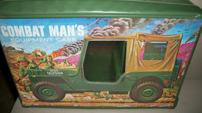 GI Joe Equipment Case Combat Man Sp Products vintage