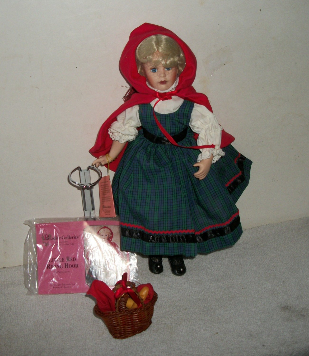 Porcelain Little Red Riding Hood Paradise Galleries