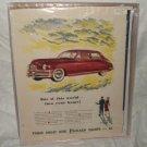 1948 Packard Ad Original Eights
