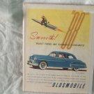 1950 Oldsmobile Rockett 88 Car Ad