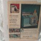 1958 Frigidaire Print Ad Original Advertising 1959