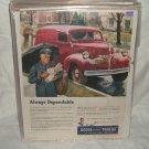 1947 Dodge Ad Original Job Rated Trucks