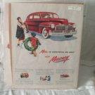 Mercury 1947 Print Ad
