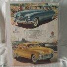 Kaiser Frazer 1947 Print Ad International Favorites