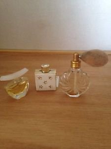 Art Deco Three Perfume Assorted MINI BOTTLES Dazzling And Others