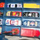 HOTWHEELS LESNEY RACING CHAMPION NASCAR BUDDY L LARGE LOT LESNEY CAR CASE 1978