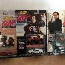 007 James Bond Johnny Lightning Set of 3 Cars w photo cards MOC
