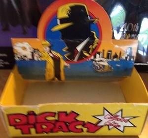 DICK Tracy Vintage Disney Watch Store Display Box Rare Nice Colors