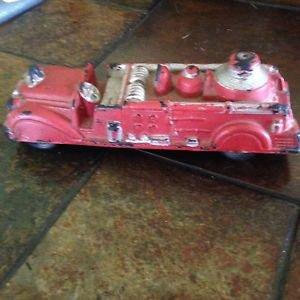 Antique 1930's Auburn Rubber Fire truck USA