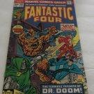 FANTASTIC FOUR 143 February 1973 MARVEL COMICS DR DOOM BRONZE BATTLE ISSUE