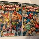 FANTASTIC FOUR #168 &165 MARVEL Comics 1975 Bronze Cage Crusader