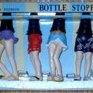 4 Beach Legs Bottle Stoppers
