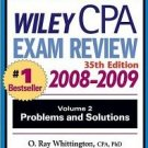 Wiley CPA Examination Review 2008-2009