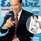 Esquire Magazine-Arnold Schwarzenegger 07/2003