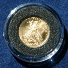 1998 $5 GOLD American Eagle 1/10 Ounce