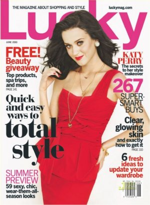 Lucky Magazine-Katy Perry Cover 06/2010