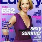 Lucky Magazine-Christina Applegate Cover 06/2004