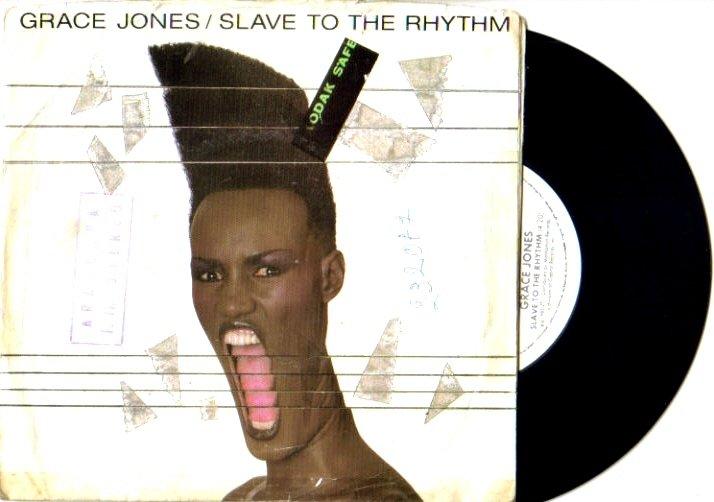 GRACE JONES Slave To The Rhythm 45 USA MANHATTAN 1985