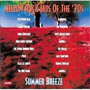 CD Mellow Rock Hits Of The '70s: Summer Breeze - Various Artists