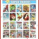Marvel Super Heroes US Commemorative Postage Stamps