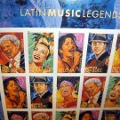 US stamps Mint Pane of 20(forever stamp) Latin Music Legends