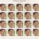 USA Ronald Reagan forever stamp sheet (20 stamps)