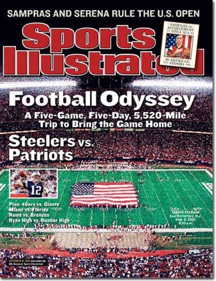 Sports Illustrated Magazine GIANTS STADIUM 09/16/2002