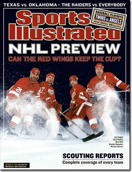"SPORTS ILLUSTRATED ""NHL Preview"" 10/14/2002"
