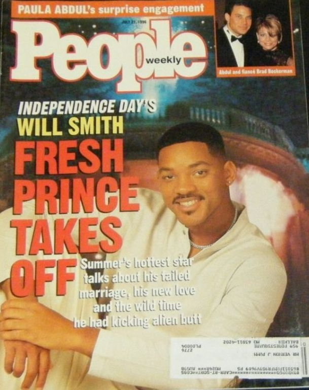 People Weekly July 22, 1996 WILL SMITH Fresh Prince