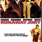 Runaway Jury DvD John Cusak, Gene Hackman, Dustin Hoffman(Widescreen Edition)