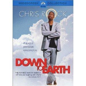 Down to Earth DvD starring Chris Rock, Regina King & Eugene Levy