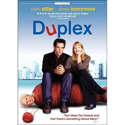 Duplex DvD starring Ben Stiller & Drew Barrymore