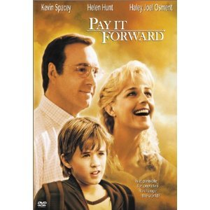 Pay It Forward DvD starring Kevin Spacey, Helen Hunt