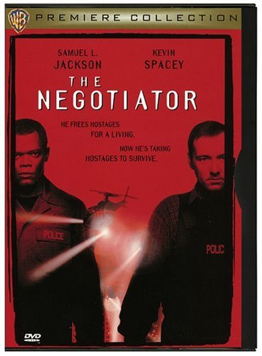 The Negotiator DvD starring Kevin Spacey & Samuel L. Jackson