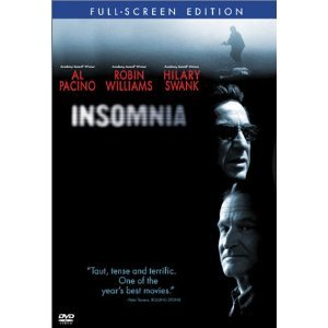 Insomnia DvD starring Al Pacino, Robin Williams & Hilary Swank