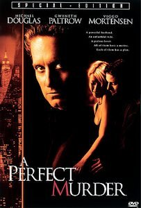 A Perfect Murder DvD starring Michael Douglas, Gwyneth Paltrow