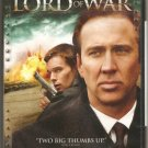 Lord of War DvD starring Nicolas Cage, Ethan Hawke