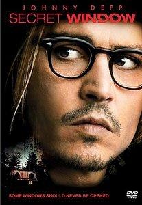 Secret Window DvD starring Johnny Depp, Maria Bello