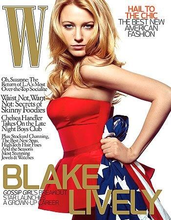 W Magazine-Blake Lively Cover 12/2008