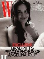 W Magazine-Angelina Jolie Cover 11/2008