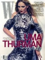 W Magazine-Uma Thurman Cover 10/2009